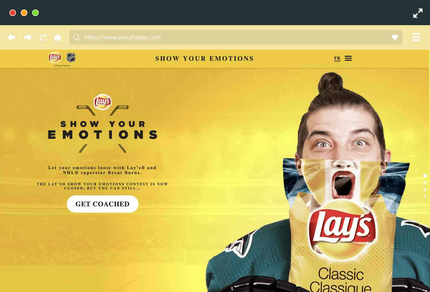Lays Show Your Emotions